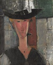 Amedeo Modigliani,Madam Pompadour, 1915