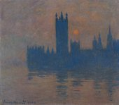 Claude Monet, Houses of Parliament, Sunset, 1904