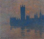 Claude Monet, Houses of Parliament, Sunset, 1904