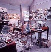 Henry Moore, Moore's maquette studio