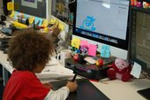 Six year old Jude's visit to the Moshi Monsters studio in London
