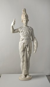 Archaistic Statuette of Athena 1st century AD Marble 1350 x 495 x 250 mm National Museums Liverpool, Gift of Col. Joseph W Weld, 1959 Image © National Museums Liverpool (World Museum)