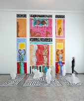 Betty Woodman, Roman Fresco: Pleasures and Places 2010