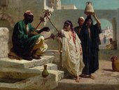 Frederick Goodall, R.A. The Song of the Nubian Slave 1863