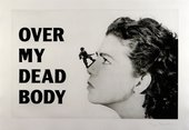 <p>Mona Hatoum</p> <p><em>Over my dead body</em> 1988-2002</p>
