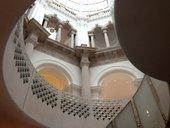 The Rotunda staircase leading to the Tate Britain Members Room