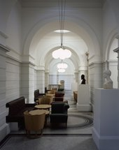 Interior view of the Tate Britain Members Room