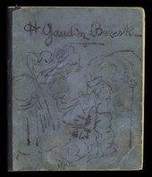 From Collection owner: Henri Gaudier-Brzeska, Henri Gaudier-Brzeska, Sketchbook titled 'Journal' 1911