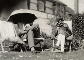 Lytton Strachey; DoraCarrington  by Unknownphotographer