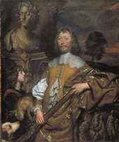 Fig.1 William Dobson1611−1646 Endymion Porter c.1642–5 Oil paint on canvas 1499 x 1270 mm N01249