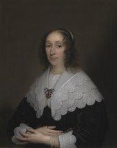 Fig.1 Cornelius Johnson1593−1661 Cornelia Veth 1644 Oil paint on canvas 806 x 658 mm N01321