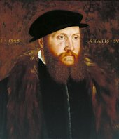 Fig.1 John Bettes active c.1531–1570 An Unknown Man in a Black Cap 1545