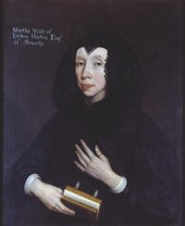 Fig.1 British School 17th century A Lady of the Horton Family c.1665