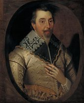 John Souch 1594-1644 or 5 George Puleston (?)  c.1625-30 Oil paint on canvas 770 x 640 mm N06247