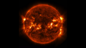Full Disk View of M9.3-class Solar Flare on 12 March 2014. Courtesy NASA