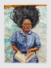 Aliza Nisenbaum Naveena, Student Nurse and Succulents 2020 © Aliza Nisenbaum. Photography by Jeff McLane, courtesy the artist and Anton Kern Gallery, New York