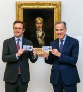 Tate Britain displays new Turner £20 alongside artist's self-portrait