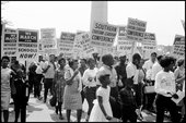 USA. Washington, D.C. August 28, 1963. The March on Washington.