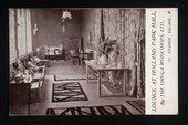 Postcard of 'Holland Park Hall' interior designed by Omega Workshops Ltd. © Annabel Cole