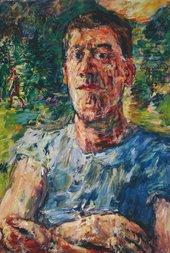 Oskar Kokoschka, Self-Portrait of a Degenerate Artist, 1937, oil paint on canvas, 110 x 85 cm