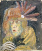 Otto Dix, Lady with Dog, 1922