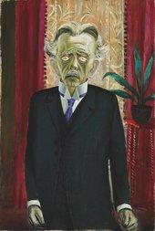 Otto Dix, Portrait of Dr Heinrich Stadelmann, 1920
