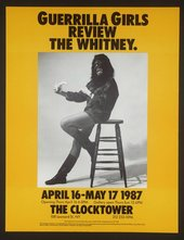 Guerrilla Girls Review The Whitney, 1987