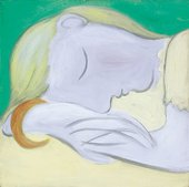 Fine art print of Sleeping Woman by Pablo Picasso