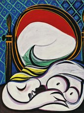 Fine art print of The Mirror by Pablo Picasso