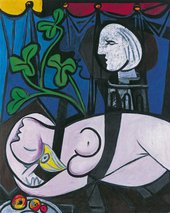 Pablo Picasso Nude, Green Leaves and Bust (Femme nue, fueilles at buste) 1932 Private Collection © Succession PicassoDACS 2018
