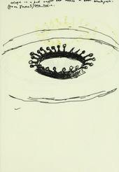 Page from Donald Rodney's sketchbook number 41, 1995 - © Estate of Donald Rodney