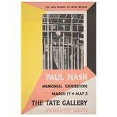 Paul Nash Vintage poster