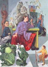 Paula Rego The Artist in Her Studio, 1993. Leeds Museums and Galleries (Leeds Art Gallery) U.K. / Bridgeman Images © Paula Rego