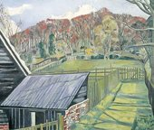 Paul Nash Behind the Inn print