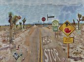 David Hockney Pearblossom Hwy., 11–18 April 1986, #1