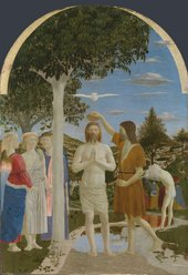 Piero della Francesca The Baptism of Christ 1450s