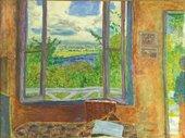 Pierre Bonnard, Fenêtre ouverte sur la Seine (Vernon), c1911, oil paint on canvas, 78 x 105.5 cm - Courtesy Ville de Nice - Musée des Beaux-Arts Jules Chéret, photo- Muriel ANSSENS
