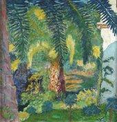 Pierre Bonnard, Palm Tree at Le Cannet, 1924, oil paint on canvas, 50 x 48 cm - Courtesy Manchester Art Gallery, UK / Bridgeman Images