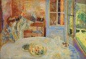 Pierre Bonnard, The Dining Room, Vernon, c1925, oil paint on canvas, 126 x 184 cm - Ny Carlsberg Glyptotek, Copenhagen, photo- Ole Haupt