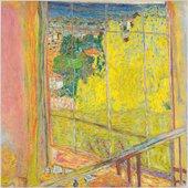Pierre Bonnard, The Studio with Mimosa, 1939–46, oil paint on canvas, 127.5 x 127.5 cm - Photo © Centre Pompidou, MNAM-CCI, Dist. RMN-Grand Palais - © Bertrand Prévost