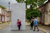 Liverpool Biennial 2016. Lara Favaretto, Momentary Monument – The Stone 2016. Photo: Mark McNulty