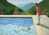 David Hockney Portrait of an Artist (Pool with Two Figures) 1972 Private Collection © David Hockney Photo Credit: Art Gallery of New South Wales / Jenni Carter