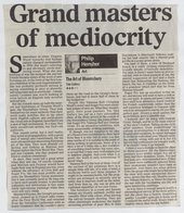 Mail on Sundayreview of Tate's Bloomsbury exhibition in 1999 © Associated Newspapers Ltd.