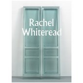 Cover of Rachel Whiteread paperback book with a blue resin door