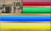 Reimo Reinikainen Sketch 4 for the US Flag 1966 © ADAGP, Paris and DACS, London 2015. Courtesy Turku Art Museum