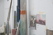 Rebecca Warren's east London studio, July 2017