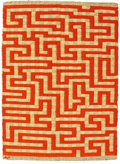 Anni Albers Red Meander 1954 Private Collection © 2018 The Josef and Anni Albers Foundation/Artists Rights Society (ARS), New York/DACS, London