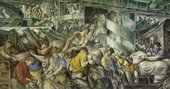 Fig.1 Reginald Marsh, Sorting the Mail 1936