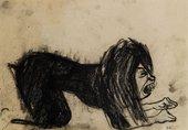 Paula Rego Dog Woman 1952