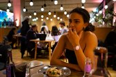 Pphotograph of diners in Tate Modern's Restaurant